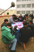 crew; counting the votes; election; Liu Chyen village; Shandong; Roll 56 Pic 21
